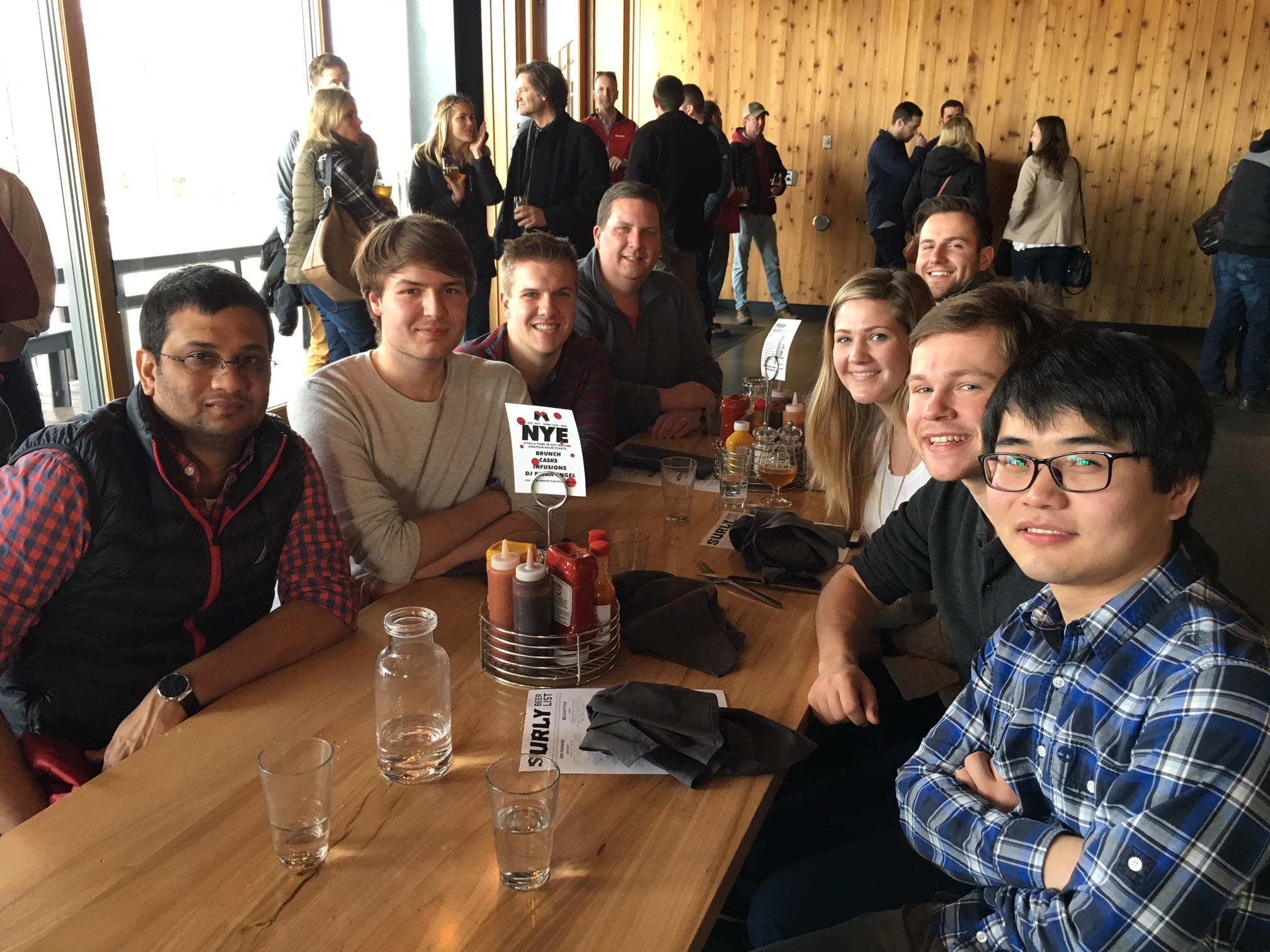 Harki Lab Group Lunch - December 2017